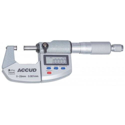 Dijital Dış Çap Mikrometresi IP65
