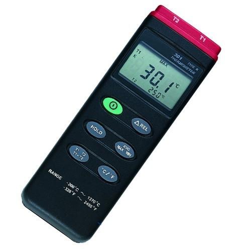 2 Kanallı K Tipi Termometre